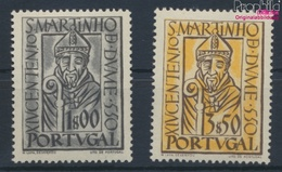 Portugal 807-808 (kompl.Ausg.) Mit Falz 1953 Martin Von Braga (9379085 - 1910-... Republic