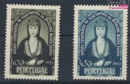 Portugal 813-814 (kompl.Ausg.) Mit Falz 1953 Joana (9379084 - 1910-... Republic