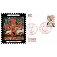 CEF Soie - Croix Rouge, Les Saisons (1861) - 29/11/1975 Le Creusot - 1970-1979