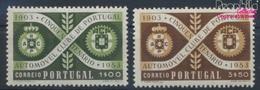 Portugal 811-812 (kompl.Ausg.) Postfrisch 1953 Automobilclub (9379061 - 1910-... Republic