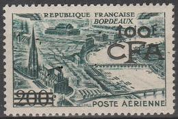 CFA PA 49** - 100 F. CFA S/ 200 F. VERT BORDEAUX - Réunion (1852-1975)