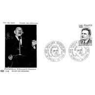 FDC PAC 1143 - Édouard Herriot - Homme Politique - 8/10/1977 Troyes Et Lyon - 1970-1979