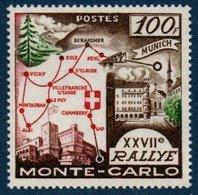 MON  1958  27ème Rallye De Monte-Carlo  N°YT 491  ** MNH - Monaco