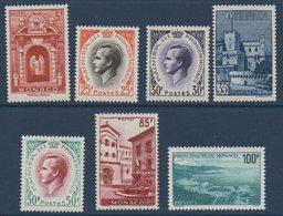 MON  1959 Prince Rainier Et Vues De La Principauté   N°YT 503-509  ** MNH - Neufs