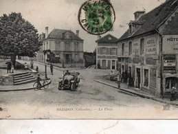 Mézidon -    La  Place. - Autres Communes