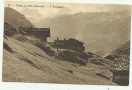 Belle Carte Sépia  SUISSE   20.  Vallée Du Rhin (Grisons) .A  Tschamut - GR Grisons