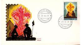 Fdc Siligato : SCOUT (1968); No Viaggiata; AF_Roma - 6. 1946-.. República