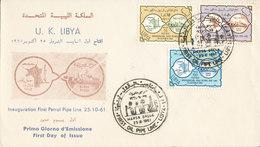 LIBIA FDC 1961 - Libië