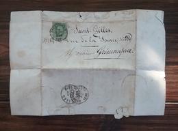 """Lettre De Communard En Exil En Belgique ( 1876 ) Avec """" état De Service """" Pendant La Commune , Blanquiste . - Documenti Storici"""