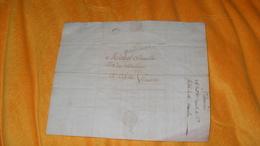 LETTRE FACTURE ANCIENNE DE 1801...MARQUE 88 ST CHAMONT POUR AIX EN PROVENCE.. - 1801-1848: Precursori XIX
