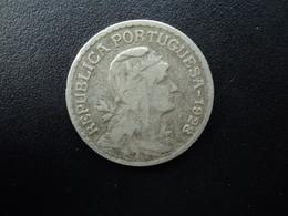 PORTUGAL : 1 ESCUDO  1928   KM 578    TB+ - Portugal