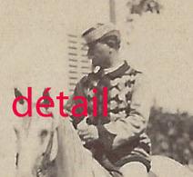 A Voir  ALGER-vers 1870-CDV  Cavalier Commandant Auguste BRAUN 1831-1896, Alsacien-voir Ses Campagnes- Photo Berthomier - Guerra, Militari