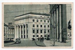 1930s YUGOSLAVIA, CROATIA, ZAGREB, STOCK EXCHANGE, BURZA, ILLUSTRATED POSTCARD, MINT - Croacia