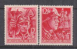 DR  909-910, Postfrisch **, SA Und SS 1945 - Unused Stamps