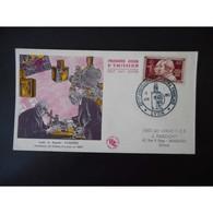 FDC - Les Frères Lumière - Oblit Lyon 12/6/55 RARE ++ - 1950-1959