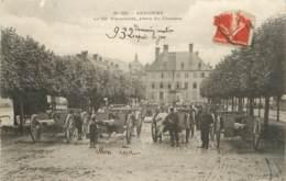 SENONES LE 62em D'ARTILLERIE PLACE DU CHATEAU - Senones
