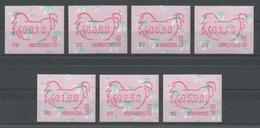 Hong Kong - Distributeurs - YT 8 (7 Valeurs, Code 02) ** MNH - 1993 - Année Du Coq - Distributeurs