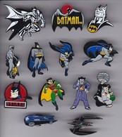 COLECCION DE 13 PINS DE BATMAN - COMIC SUPERHEROES - Cómics