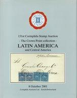 Latin And Central America - Crown Point Collection - Corinphila 2001 - Catalogues De Maisons De Vente