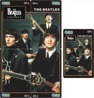 M04873 China The Beatles Puzzle 5pcs - Musik