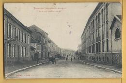 C.P.A. BACCARAT - Rue Des Cristalleries - Baccarat