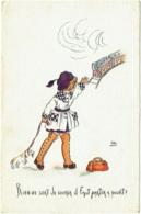 """Illustrateur : Sky. Publicité : Ostende, Magasins """"A La Ville De Londres"""". Enfant Et Train. - Illustratori & Fotografie"""