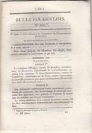 Bulletin Des Lois 800 De 1841 - Règlement Sur Les Concessions De Mines De Sel Et De Sources Et Puits D'eau Salée - Décrets & Lois