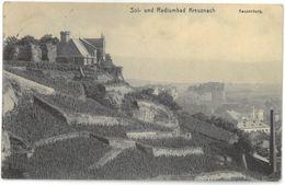 CPA Sol- Und Radiumbad Kreuznach - Kauzenburg - Ed. Ph. Does & Söhne , Bad Kreuznach N° 1913 191 - Bad Kreuznach