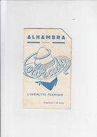 Alhambra Programma / Programme - Bruxelles - L'opérette Féerique - Colorado - 1953 - Programma's