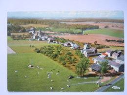 Porcheresse-en-Condroz Panorama Aérien Circulée 1974 Edit Plein Champs - Havelange