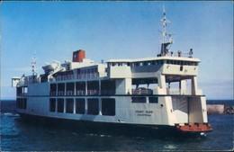 Kanada   Ferry Schiff Ship MV HOLIDAY ISLAND Schiffsfoto Ship-Photo-Card 1972 - Kanada