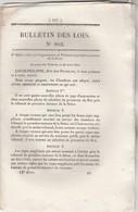 Bulletin Des Lois 803 De 1841 - Pont Sur Loire à Tours - école Préparatoire Médecine Pharmacie Dans Plusieurs Villes - Décrets & Lois