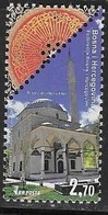 BOSNIA, MUSLIM, 2019, MNH, ARCHITECTURE, MOSQUES, ALADZA MOSQUE,1v - Mosquées & Synagogues