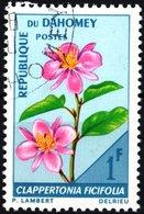 DAHOMEY, FLORA, FIORI, FLOWERS, 1967, 1 F., FRANCOBOLLO USATO  Mi:DY 298, Scott:DY 226, Yt:DY 246 - Benin – Dahomey (1960-...)