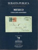 Mexico  Colleccion Schatzkes -  Soler Y Llach 2002 - Cataloghi Di Case D'aste