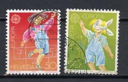 Euroa CEPT 1989 Suisse - Switzerland - Schweiz Y&T N°1323 à 1324 - Michel N°1391 à 1392 (o) - Europa-CEPT