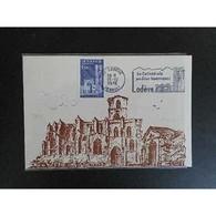 Carte Maximum - Cathédrale - 15/12/76 Lodève - Cartas Máxima