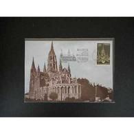 Carte Maximum - Cathédrale De Bayeux - 9/7/77 Bayeux - Cartas Máxima