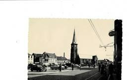 Mouscron. La Grand'Place. L'Eglise Décanale St. Barthémy. - Mouscron - Moeskroen
