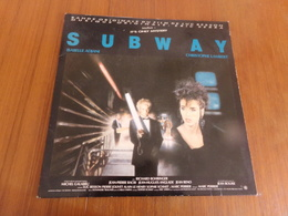 """Disque 33 T """" Bande Originale Du Film Subway """" - Musique De Films"""