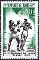 DAHOMEY, SPORT, PUGILATO, BOXERS, 1963, 0,5 F., NUOVO (MLH*)  Mi:DY 213, Scott:DY 172, Yt:DY 192 - Benin – Dahomey (1960-...)