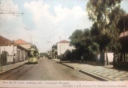 """MOZAMBIQUE......Laurenco Marques...."""" Rua De D. Luis, Looking East """" - Mozambique"""
