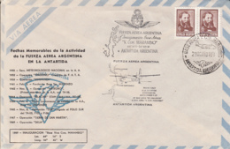 POLAR FLIGHTS, ARGENTINIAN AVIATION IN ANTARCTICA, SPECIAL COVER, 1969, ARGENTINA - Vols Polaires