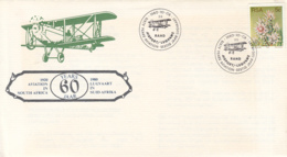TRANSPORT, PLANES, SOUTH AFRICA AVIATION, SPECIAL COVER, 1980, SOUTH AFRICA - Airplanes