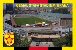 CP.STADE DE FOOTBALL. TIRANA   ALBANIE   GEMAL  STAFA  STADIUM   # CS. 838 - Fútbol
