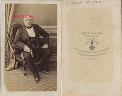 A Voir ALGER V1865 -CDV Eminent Docteur Auguste VITAL-Hopitaux Militaires Constantine Né Dunkerque-par Alary Et Geiser - Guerra, Militari