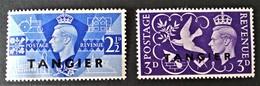 TANGER - SURCHARGES 1946 - NEUFS ** - MI 23/24 - Sonstige