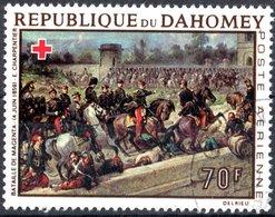 DAHOMEY, POSTA AEREA, AIRMAIL, CROCE ROSSA, 1968, 70 F., USATO  Mi:DY 354, Scott:DY C79, Yt:DY PA83 - Benin – Dahomey (1960-...)