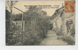 """LA QUEUE LES YVELINES - """"RESTAURANT NORMANDY """" - Cottage MILLEMONT - France"""