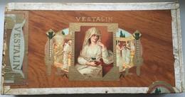 Boîte à Cigares Vintage En Bois VESTALIN - Sigaren - Toebehoren